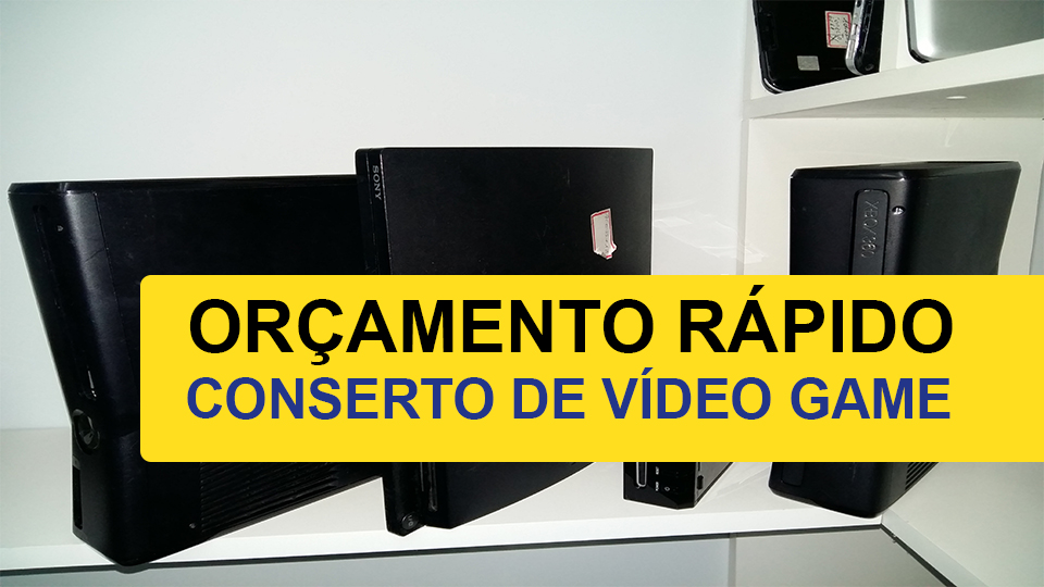assistencia tecnica de video game - Consertar Vídeo Games Guararapes -