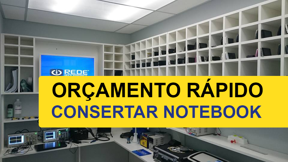 Consertos de Notebook