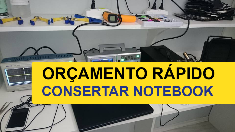 consertar notebook