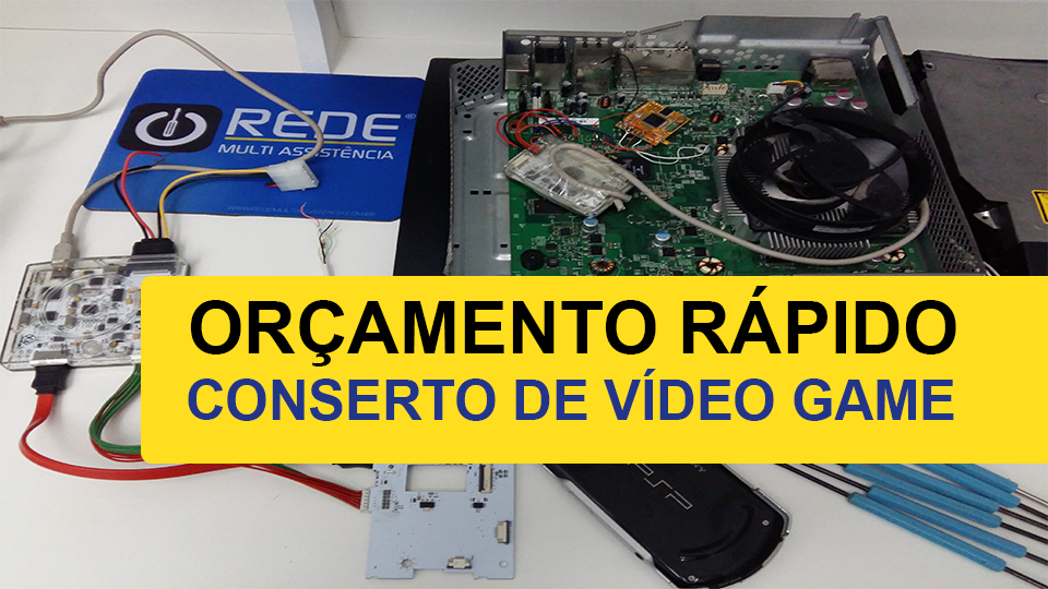 conserto de video game - Consertar Xbox One -