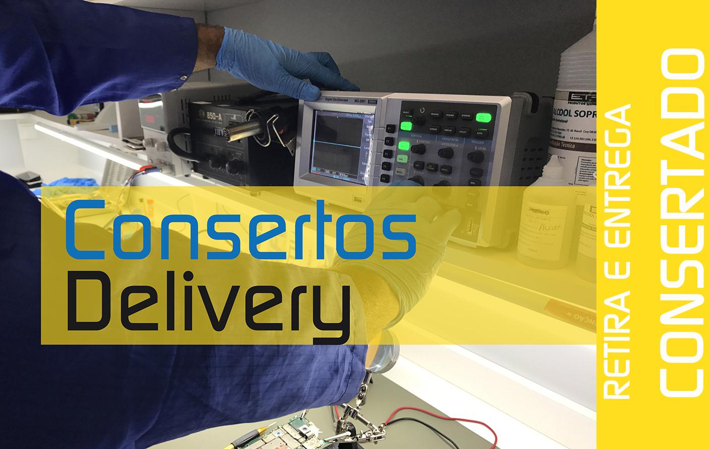 Consertos Delivery - Consertar Celular em Domicílio -