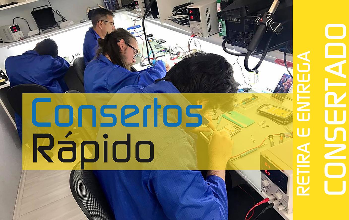 Consertos Rapido - Consertar Celular em Domicílio -
