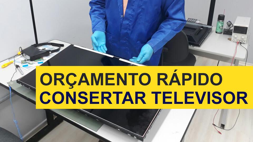 Orçamento Consertar TV - Consertar TV no Parque Amazonia - blog