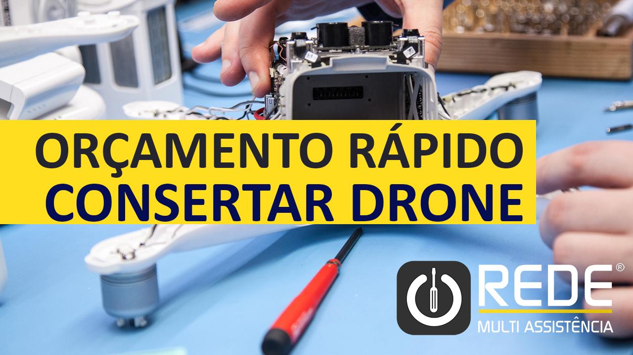 Conserto de Drone Molhado