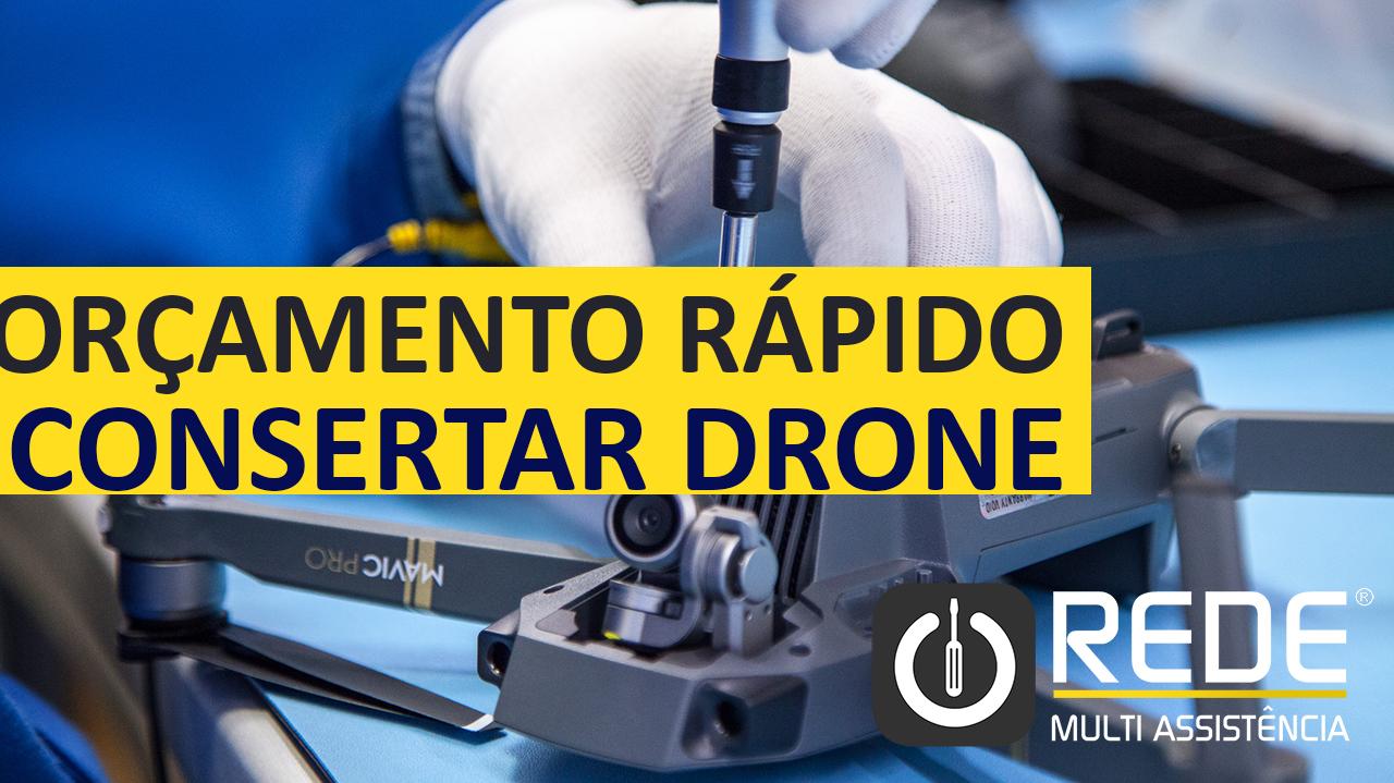 Consertar Drone Mavic Pro - Assistência Técnica DJI -
