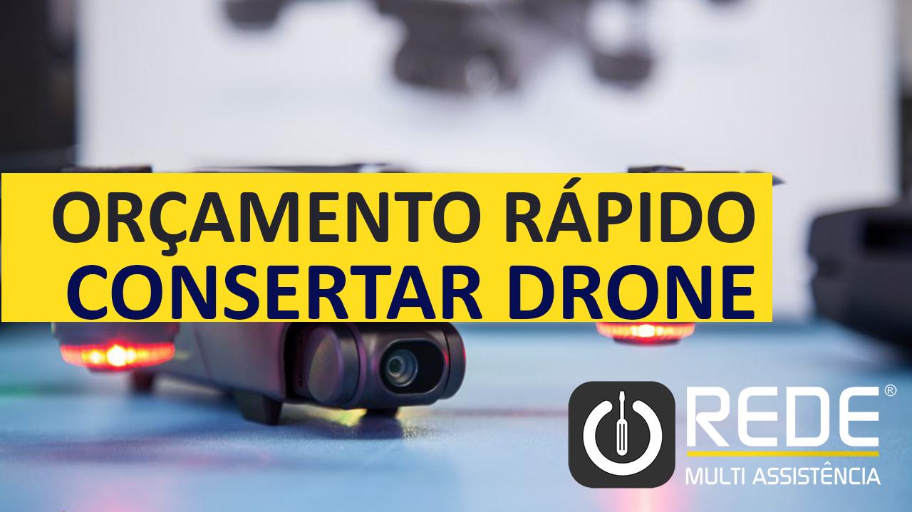 Conserto de Drone DJI no Tatuapé