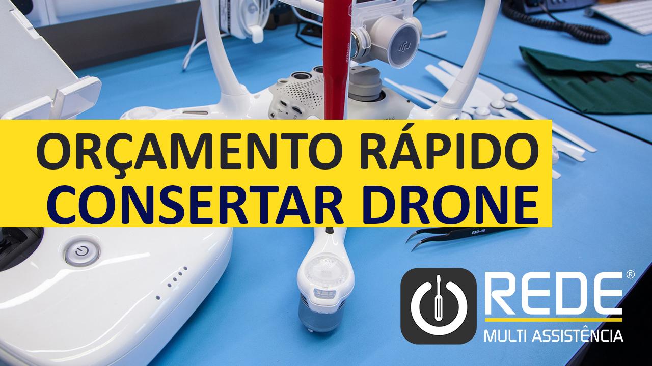 Assistência Técnica de Drones
