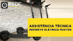 Patinete Elétrico FOSTON REDE - Bateria Patinete Foston B08 - blog