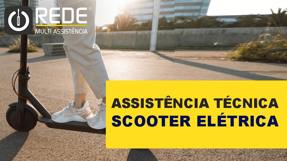Scooter Elétrica - Assistência Técnica de Scooter -