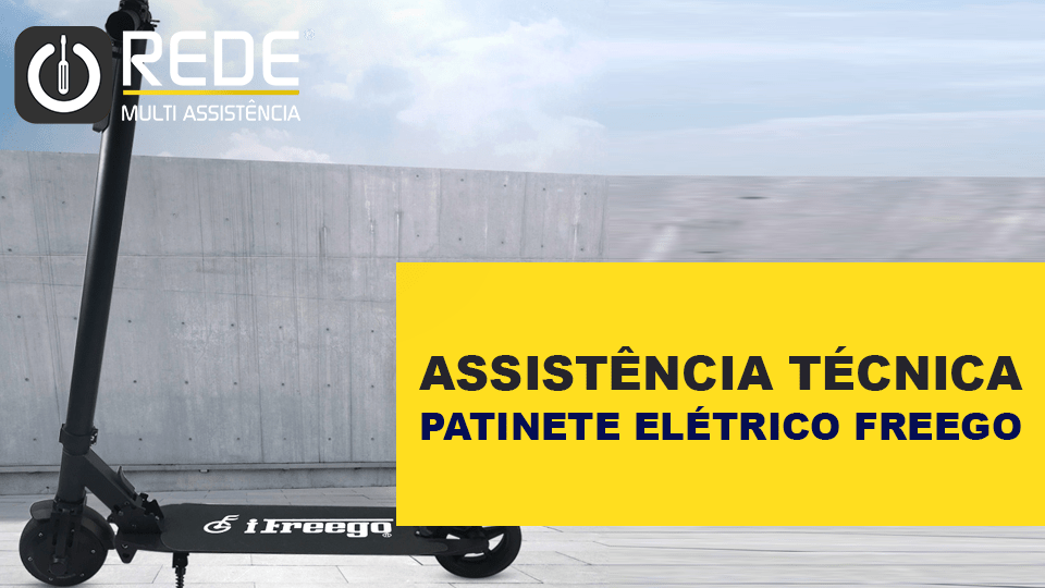 ConsertarPatineteFreegooRede - Assistência Patinetes Elétricos Freego -