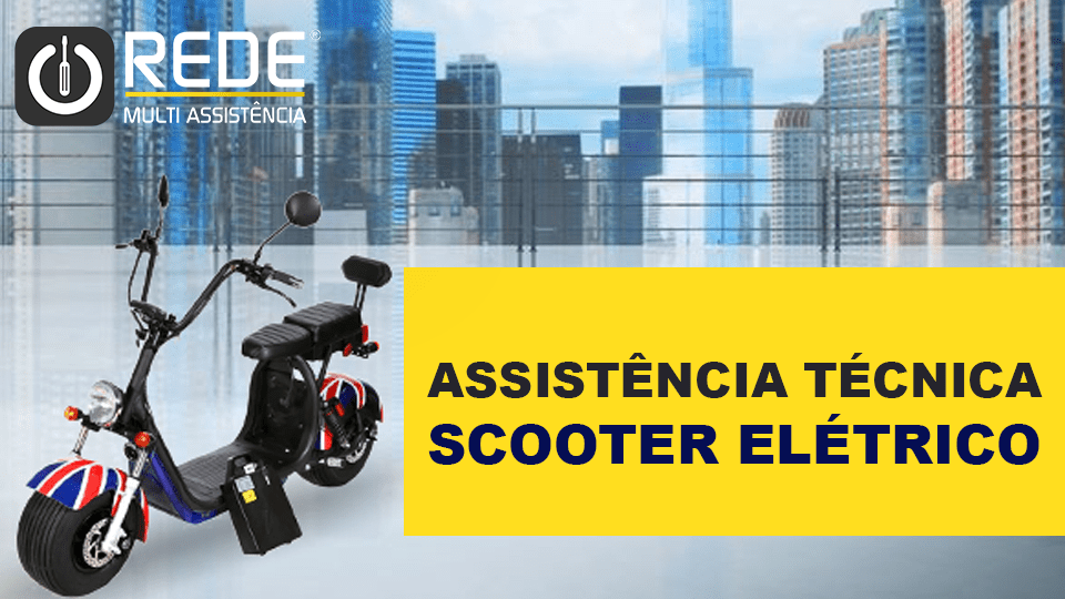Consertar Scooter no Ibirapuera